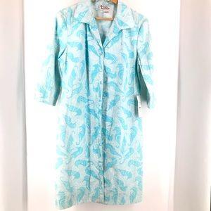Lilly Pulitzer Vintage Seahorse Print Dress